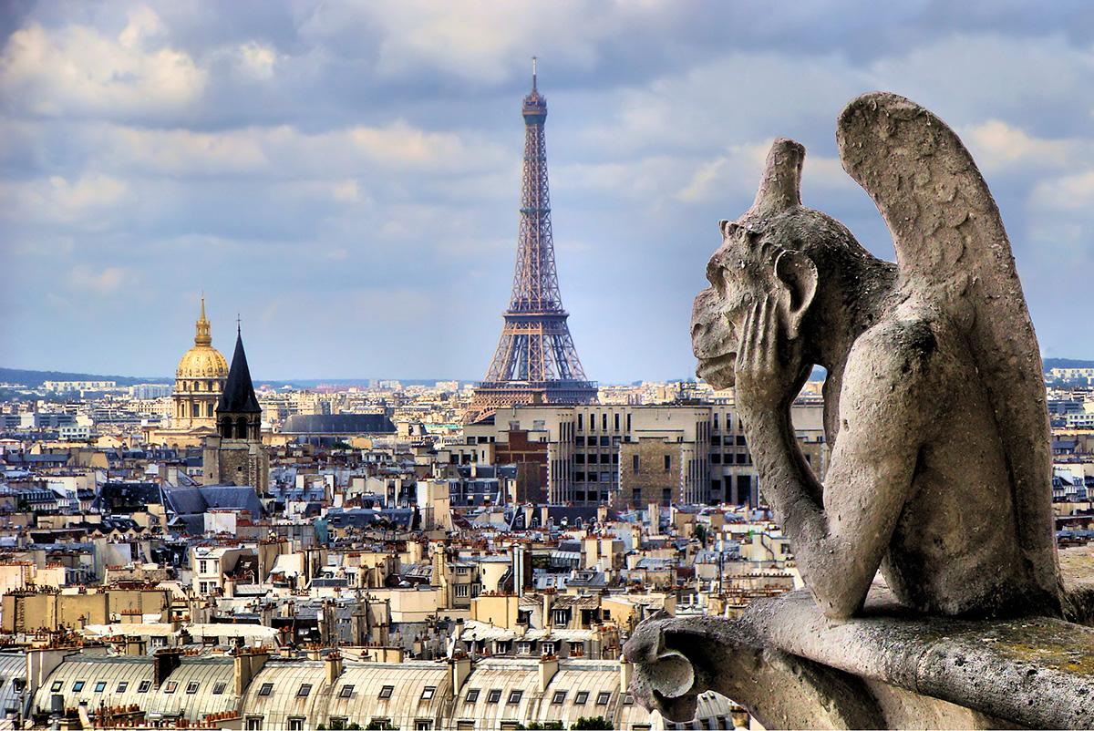 Париж: российские граждане на 10-м месте